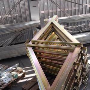 Estructuras zincadas
