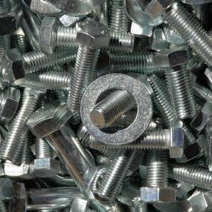 Tornillos zincados