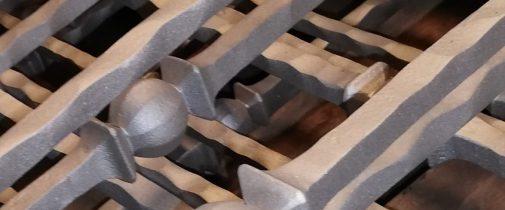Granallado de gancho o carga suspendida automática